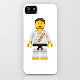 Jiu jitsu maniac iPhone Case