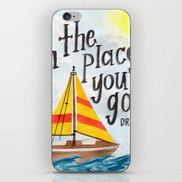 Oh the Places You'll Go - Dr. Seuss iPhone Skin