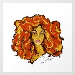 LionBabe Art Print