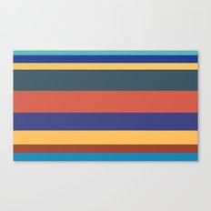 Color Band 70's - B - Stripe Canvas Print