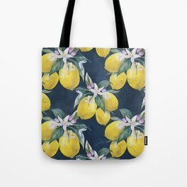 Lemons pattern Tote Bag