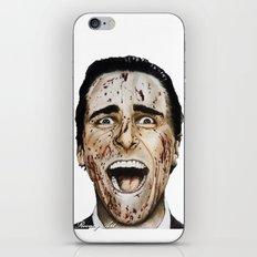 COLOURED PSYCHO iPhone & iPod Skin