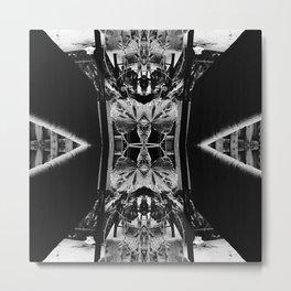 Through My Looking Glass v4 Metal Print