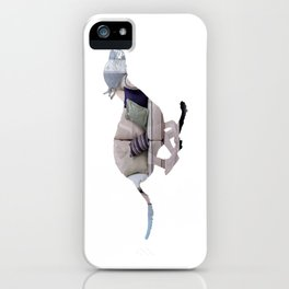 Greyhound Couch Potatoe [1] iPhone Case