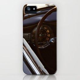 Lancia Aurelia GT Dashboard iPhone Case
