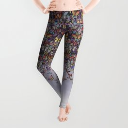 butterfly cascade Leggings