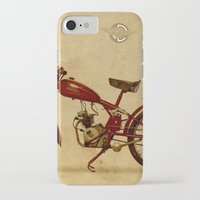 ducati iPhone & iPod Cases featuring Ducati 60 1950 by Larsson Stevensem