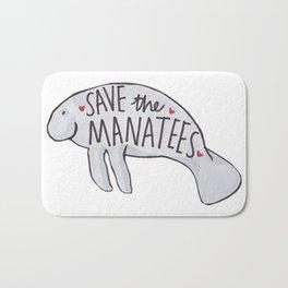 Save the Manatees Bath Mat
