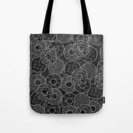 Dark donut | Love donuts | Goth donut | Donut Decor | Donut Designs Tote Bag