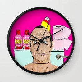 Toilet Humour! Wall Clock