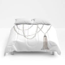 White Pearl Comforters