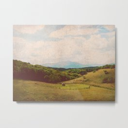 Pasture Metal Print