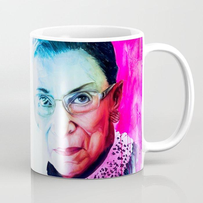 Notorious RBG - Rob Prior Coffee Mug