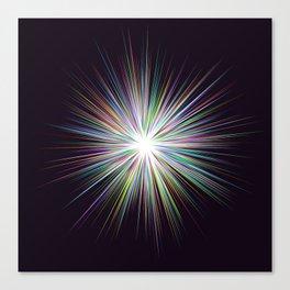 Shine sunshine design Canvas Print