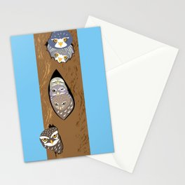 Tree hollows Stationery Cards