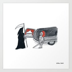 Chivalry is Dead? Art Print