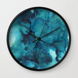 Blue - Abstract Wall Clock