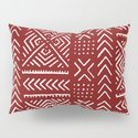 Line Mud Cloth // Maroon by thinlinetextiles