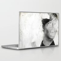 number Laptop & iPad Skins featuring Faceless | number 01 by FAMOUS WHEN DEAD