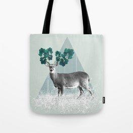 Deer, Stag, Forest Animal, Woodlands Tote Bag