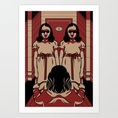 Dark Symmetry Art Print