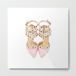 Shoes valentino Metal Print