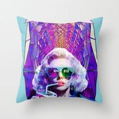 A hollywood treasure Throw Pillow