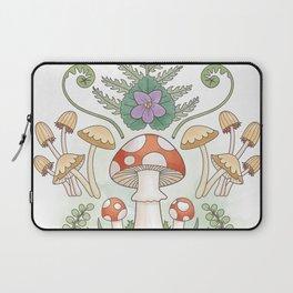 Woodland Mushrooms & Moths Laptop Sleeve
