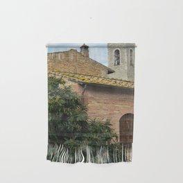 Rooftops of San Gimignano Wall Hanging