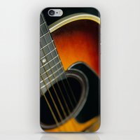 guitar iPhone & iPod Skins featuring Guitar by Bruce Stanfield