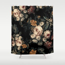 Midnight Garden XIV Shower Curtain