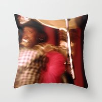 cuba Throw Pillows featuring Cuba Tuba by Sandra Ireland Images