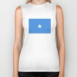 Somalia country flag Biker Tank