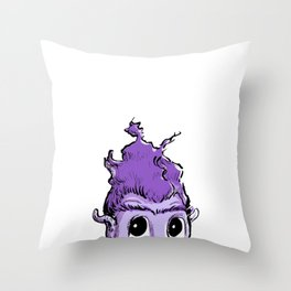 Gregory and the Grimbockle Throw Pillow