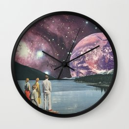 Earthrising Wall Clock