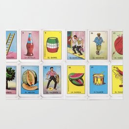 Lotería Cards Rug