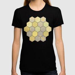 Lemon & Grey Honeycomb T-shirt