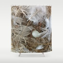 Empty nest Shower Curtain