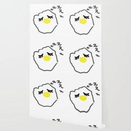 sleepy egg Wallpaper