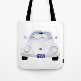 Moxie VW Bug Watercolor Series Tote Bag