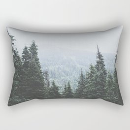 Forest Window Rectangular Pillow