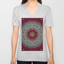 Mandala Nada Brahma  Unisex V-Neck
