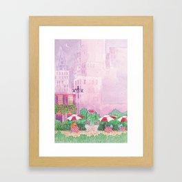 City Cafe Framed Art Print