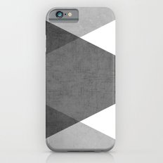 black and white triangles iPhone 6 Slim Case