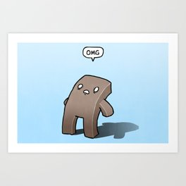 Oh The Humanity Art Print