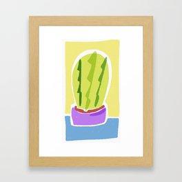 Cactus Cutie Framed Art Print