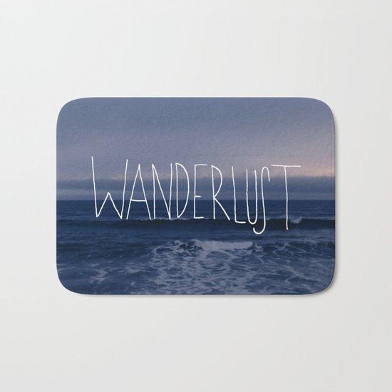 Wanderlust Ocean Bath Mat