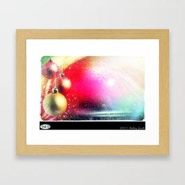 JINGLE BELL ROCK Framed Art Print