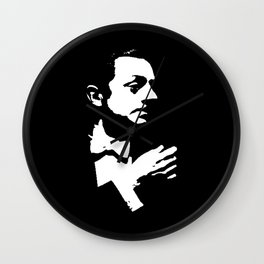 William Powell Is Class Wall Clock