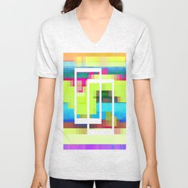 Time and Place Unisex V-Neck